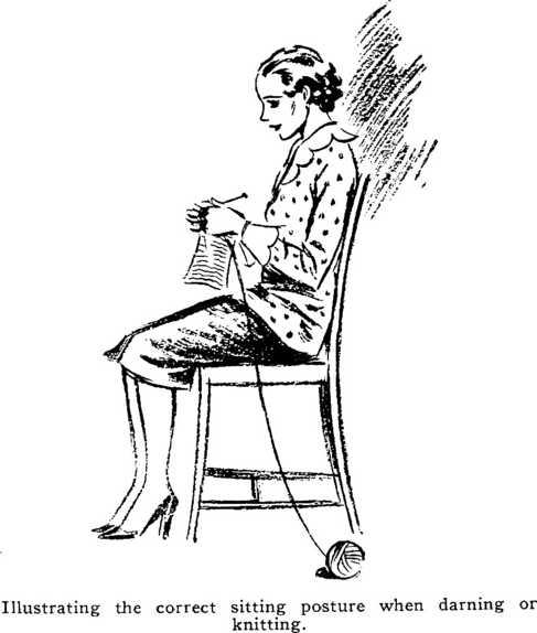Posture knitting